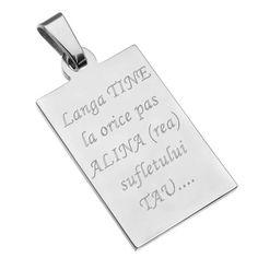 Cadoul pentru barbati nu mai este o misiune imposibila, daca alegi sa personalizezi cu un mesaj de dragoste un pandantiv army pentru el <3 <3   Pandantivul army style poti sa-l personalizezi fata/verso cu text sau poza, si comandat online, accesand link-ul de produs: https://www.cadouripersonale.ro/Pandantiv-din-inox-3-2cm-pentru-gravura-p-16753-c-379-p.html sau telefonic la 0372 711 711   www.cadouripersonale.ro   #cadouripersonale #cadouripersonalizate #bijuteriibarbati #army #bijuteriip