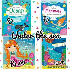 I like to be under the sea. Books from as little as £1 at @baileyboos bookshop