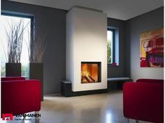 The Heat Pure 71 is a very stylish Wood Burning stove with a large glass door. Its massive Heat Output is a great size for a larger sized living room. The Heat Pure 71 is very similar to the 70 except the 71 is more of a square shape and has a hig Fireplace Stores, Stove Fireplace, Faux Fireplace, Living Room With Fireplace, Fireplace Design, Bioethanol Fireplace, Fireplaces, Innovation Design, Decoration