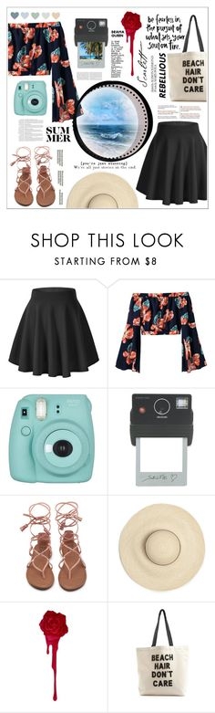 """""""Best day ever"""" by unicornul ❤ liked on Polyvore featuring Fujifilm, Donkey Products, Anja and Fallon & Royce"""