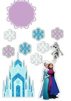Frozen Themed Birthday Cake, Cinderella, Disney Characters, Fictional Characters, Disney Princess, Art, Cakes, Pastries, Art Background