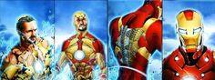 Capitán América 3 Civil War: Iron Man y su Armadura del Borde Sangrante