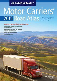 Rand McNally 2015 Motor Carriers' Road Atlas (Rand Mcnally Motor Carriers' Road Atlas): Rand McNally: 9780528011566: Amazon.com: Books