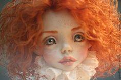 Купить Сью - рыжий, коллекционная кукла, авторская ручная работа, авторская кукла, оригинальный подарок