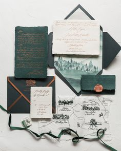 Intimate Emerald and Copper Invites // Tennessee — Written Word Calligraphy and Design invites vintage Intimate Emerald and Copper Invites // Tennessee — Written Word Calligraphy and Design Country Wedding Invitations, Wedding Invitation Wording, Wedding Stationary, Invitation Design, Christmas Wedding Invitations, Invitation Suite, Invite, Wedding Cards, Diy Wedding