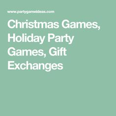 Christmas gift exchange ideas for large group