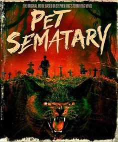 The Anniversary edition of the Stephen King adaptation PET SEMATARY has been released on Blu-ray and Ultra HD. Scary Movies, Horror Movies, Best Stephen King Movies, Mary Lambert, Cool Things To Buy, Things To Come, Pet Cemetery, King Book, Buy Pets