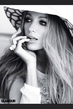 Blake Lively looking glamorous for Glamour.