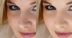 TUTORIAL Tratamento de pele com preservação da textura de pele.