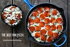 The Best Pan Pizza: How, Why, and What to Put on it