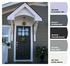 sherwin williams exterior grey exterior house colorssiding