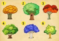 Διαλέξτε ένα χρωματιστό δέντρο από το ένα έως το εννιά και μάθετε τι λέει για την προσωπικότητα και τις κρυμμένες επιθυμίες σας για το Νέο Έτος. Yoshi, Fictional Characters, Regrow Vegetables, Fun Time, Grande, Some People, Knowledge, Licence Plates, Personality