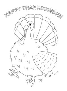 Printable Thanksgiving Coloring Pages Food