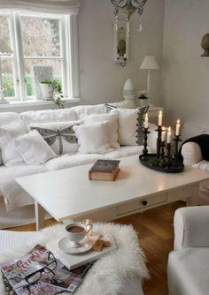 Ideen Für Das Kleine Wohnzimmer  Wohnideen Weiss Shabby Chic Romantisch