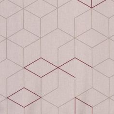 """Au Maison Wachstuch """"Cubes Old rose"""" (altrosa) Tile Floor, Flooring, Texture, Crafts, Geometric Shapes, Oilcloth, Dusty Pink, Surface Finish, Manualidades"""