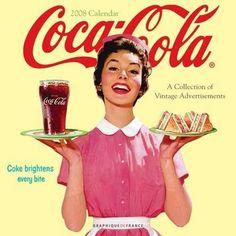 50'S Diner Background | propaganda da coca-cola (x) fases da coca