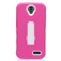 Eagle Cell Phone Case for ZTE Grand X3 Z959 - Retail Packaging - Zz0 White/Hot Pink. Authentic Eagle Cell product, Eagle Cell logo Packaging with product upc code. Easy slide and snap design requires no additional tools to install. Custom-cut with access to all function, button and ports. Protect your Phone from bump, Scratches, finger marks, and dust. Case made to fit ZTE Grand X3 Z959.