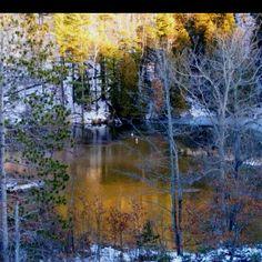 Jan. 27, 2012   View from Cooley Bridge near Wellston, Michigan