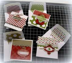 Another Chance to Stamp: Gift Cards Class