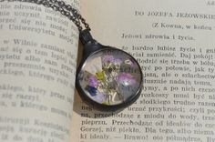 terrarium necklacesmall delicate necklacenecklace by ZokaKurylov