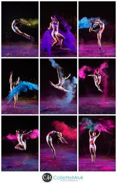 Powder Dance ~ DanzForce Extreme Studio ~Orlando Florida » Collette Mruk Photography Blog Dance, chalk, ballet, contemporary, lyrical, orlando