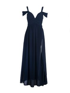 Obt dark color formal dress