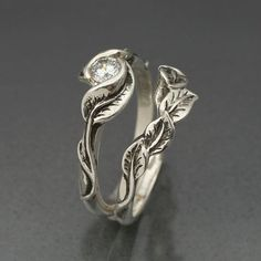 Tree/Leaf Ring