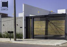 fachadas, casas terrenas, blocos aparentes, blocos de concreto, madeira, pinus tratado, eucalipto