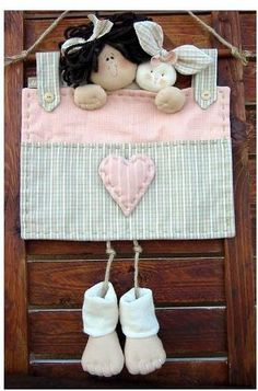 Handmade Crafts, Diy And Crafts, Crafts For Kids, Angel Crafts, Raggedy Ann And Andy, Toy Craft, Fabric Dolls, Rag Dolls, Sewing For Kids