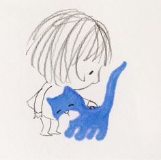 Jane Massey's artwork is so sweet. Doodle Drawings, Doodle Art, Cute Drawings, Children's Book Illustration, Illustrations, Whimsical Art, Rock Art, Cat Art, Painting & Drawing