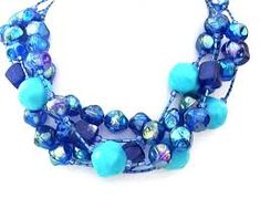 fun necklace large beads - Google Search