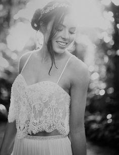 Flora Bridal | wedding dress | wedding gown | wedding separates | anna bé Denver | Photo by Otto Schulze |