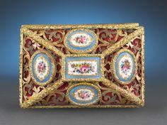 Antique Boxes, Bronze Antiques, Sevres Porcelain, Antique Objet D'Art ~ M. Bronze, Objet D'art, Casket, Fine Porcelain, Fine China, Ancient Art, Trinket Boxes, Sevres, Jewelry Box