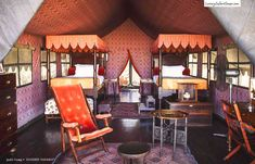 Beautifully appointed tent. - Jacks Camp, Botswana - Luxury Safari Camps