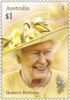 The 2016 Queen's Birthday stamp issue celebrates the 90th birthday of Her Majesty Queen Elizabeth II
