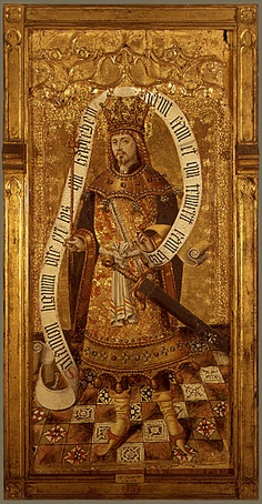 King of Swords (Spanish painting of King Solomon)
