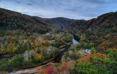 Elk River at Elkhurst, WV, by Eric Mitchell