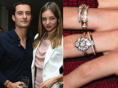 Discover the most stunning celebrity cluster engagement rings. Dazzling vintage-inspired designs include those worn by Miranda Kerr and Scarlett Johansson.