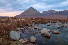 Cuillin hills Scotland