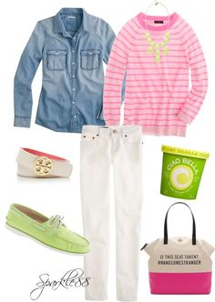 """Spring Break"" by sparkle88 ❤ liked on Polyvore"