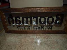 Brett's Custom Engraving - Name Signs