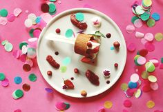 Food & color avec Pierre Augé - Poulette Magique - blog DIY & déco - Narbonne Biscuits, Food Coloring, Deco, Panna Cotta, Blog, Breakfast, Ethnic Recipes, Twitter, Diy Room Decor