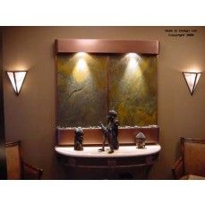 Bring Nature Indoors with Slate Wall Fountains Water Wall Fountain, Tabletop Water Fountain, Indoor Wall Fountains, Indoor Fountain, Water Fountains, Indoor Water Features, Les Cascades, Water Walls, Home Decor Shops