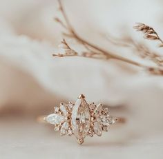 Marquee Engagement Rings, Beautiful Engagement Rings, Wedding Engagement, Wedding Bands, Unique Wedding Rings, Modern Engagement Rings, Wedding Goals, Dream Wedding, Wedding Ideas