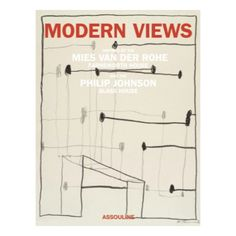 Modern Views - The building as a muse; a fascinating addition to your coffee table.
