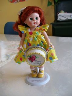 Vintage  Happy Birthday Ginny Doll by Vogue
