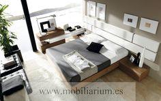 Dormitorio de Matrimonio García Sabate - Catálogo Life - Composición L229  - Mobiliarium