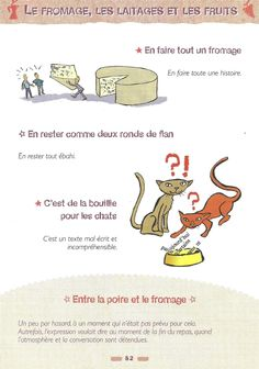 Expressions avec les fromages