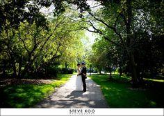 Wedding photos at Northwestern.