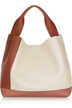 Marni | Pod color-block leather shoulder bag | NET-A-PORTER.COM